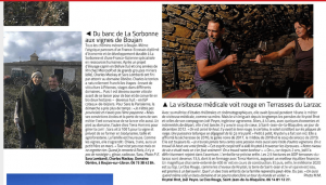 Midi Libre reconversion vigneron